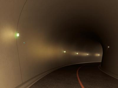 フラッシュライト(マーカーサイン・直線4灯配置)